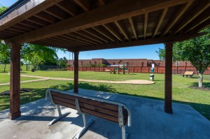One Bedroom Apartments for Rent in Katy, TX - Dog Park Covered Area