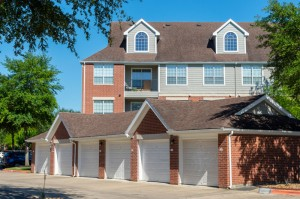 One Bedroom Apartments for Rent in Katy, TX - Garages & Exterior Building
