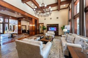 Two Bedroom Apartments for Rent in Katy, TX - Clubhouse Interior Seating Area