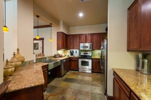 Two Bedroom Apartments for Rent in Katy, TX - Clubhouse Kitchen