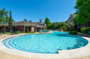Two Bedroom Apartments for Rent in Katy, TX - Pool and Patio