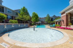 Two Bedroom Apartments for Rent in Katy, TX - Pool with Fountains