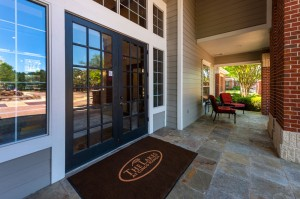 One Bedroom Apartments for Rent in Katy, TX - Clubhouse Entrance Patio