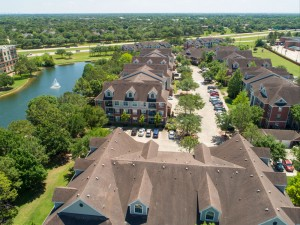Three Bedroom Apartments for Rent in Katy, TX - Aerial View of Community & Surrounding Area