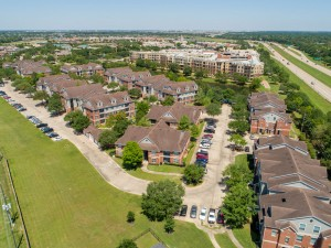 Three Bedroom Apartments for Rent in Katy, TX - Aerial View of Community & Surrounding Area (3)
