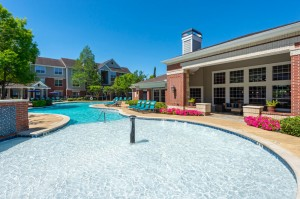 Two Bedroom Apartments for Rent in Katy, TX - Pool with Clubhouse View