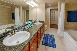 Three Bedroom Apartments for Rent in Katy, TX - Model Bathroom