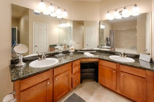 Three Bedroom Apartments for Rent in Katy, TX - Model Bathroom (3)