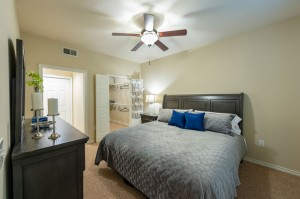 Three Bedroom Apartments for Rent in Katy, TX - Model Bedroom