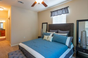 Three Bedroom Apartments for Rent in Katy, TX - Model Bedroom (2)