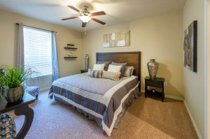 Three Bedroom Apartments for Rent in Katy, TX - Model Bedroom (4)