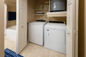 Three Bedroom Apartments for Rent in Katy, TX - Model Laundry Room