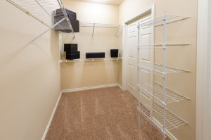 Three Bedroom Apartments for Rent in Katy, TX - Model Walk-In Closet