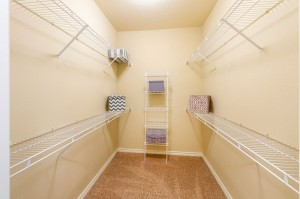 Three Bedroom Apartments for Rent in Katy, TX - Model Walk-In Closet (2)